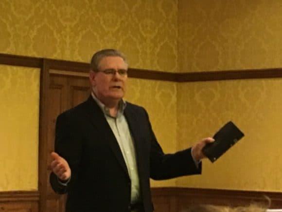 Devotional speaker Dr. John King